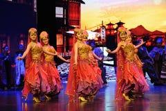 Θιβετιανά σενάρια show† λίγης αδελφή-μεγάλα κλίμακας ο δρόμος legend† Στοκ εικόνες με δικαίωμα ελεύθερης χρήσης