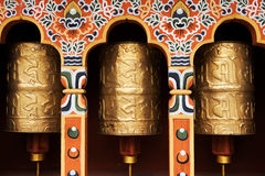 θιβετιανές ρόδες προσε&upsi Στοκ φωτογραφίες με δικαίωμα ελεύθερης χρήσης