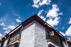 Θιβετιανή αρχιτεκτονική Στοκ εικόνα με δικαίωμα ελεύθερης χρήσης