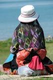 Θιβετιανή γυναίκα στοκ εικόνα με δικαίωμα ελεύθερης χρήσης