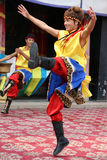 Θιβετιανοί χορευτές Στοκ εικόνα με δικαίωμα ελεύθερης χρήσης
