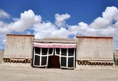 Θιβετιανός ναός στοκ εικόνα