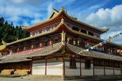 Θιβετιανός ναός Στοκ Φωτογραφία