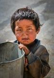 Θιβετιανό αγόρι στοκ φωτογραφίες με δικαίωμα ελεύθερης χρήσης