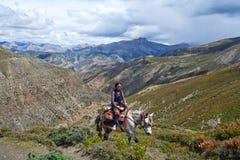 Θιβετιανό κορίτσι Στοκ φωτογραφίες με δικαίωμα ελεύθερης χρήσης