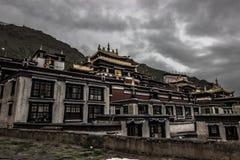 θιβετιανό μοναστήρι, Θιβέτ Στοκ εικόνα με δικαίωμα ελεύθερης χρήσης