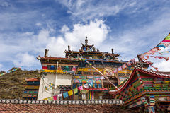 Θιβετιανό μοναστήρι Στοκ φωτογραφία με δικαίωμα ελεύθερης χρήσης