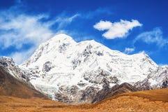 Θιβετιανό οροπέδιο σκηνή-Mt.Qungmogangze Στοκ Φωτογραφίες
