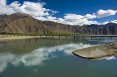 Θιβετιανό τοπίο στοκ εικόνες