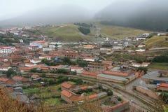 θιβετιανό χωριό της Κίνας Στοκ Εικόνες