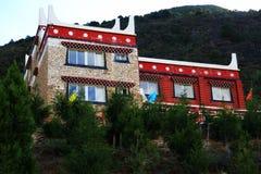 Θιβετιανό χωριό Jiaju Danba Στοκ Εικόνες