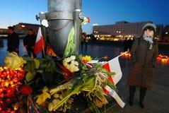 θλίψη Βαρσοβία Στοκ Εικόνα