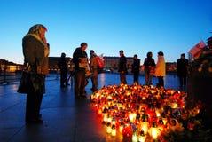 Θλίψη στη Βαρσοβία Στοκ Εικόνες