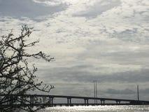 Θλιβερή γέφυρα Στοκ φωτογραφίες με δικαίωμα ελεύθερης χρήσης