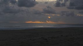 Θλιβερό ηλιοβασίλεμα στοκ φωτογραφίες με δικαίωμα ελεύθερης χρήσης