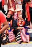 $θμαλαισιανοί στον πρόσφατο μαλαισιανό εορτασμό ημέρας της ανεξαρτησίας Στοκ φωτογραφία με δικαίωμα ελεύθερης χρήσης