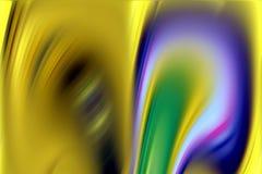 Θολωμένα χρυσά σύσταση και υπόβαθρο μορφών στις ζωηρόχρωμες γραμμές στοκ φωτογραφίες με δικαίωμα ελεύθερης χρήσης