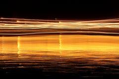 θολωμένη ελαφριά κίνηση Στοκ Εικόνα