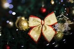 Θολωμένο υπόβαθρο Χριστουγέννων, θολωμένο αφηρημένο backgro Χριστουγέννων στοκ εικόνα με δικαίωμα ελεύθερης χρήσης