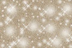 Θολωμένο Bokeh στο υπόβαθρο Χριστουγέννων με να αναβοσβήσει τα αστέρια στοκ εικόνες