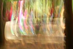 Θολωμένα ελαφριά ίχνη - ομορφιά υποβάθρου Στοκ εικόνα με δικαίωμα ελεύθερης χρήσης