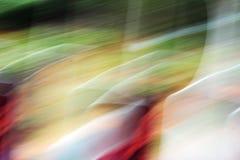 Θολωμένα ελαφριά ίχνη - ομορφιά υποβάθρου Στοκ φωτογραφία με δικαίωμα ελεύθερης χρήσης