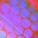 Θολωμένες φωτεινές μπλε πορφυρές φυσαλίδες ως υπόβαθρο Στοκ φωτογραφία με δικαίωμα ελεύθερης χρήσης