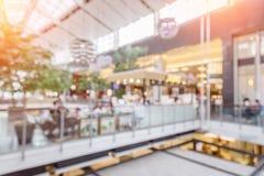 Θολωμένη λεωφόρος αγορών Στοκ Εικόνες