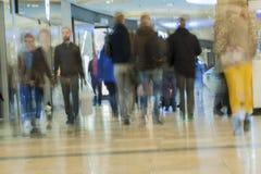 Θολωμένη περίληψη λεωφόρος αγορών για το υπόβαθρο Στοκ φωτογραφίες με δικαίωμα ελεύθερης χρήσης