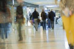 Θολωμένη περίληψη λεωφόρος αγορών για το υπόβαθρο Στοκ Εικόνες