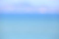 Θολωμένος θάλασσα φύσης και ουρανός και σύννεφο σε Pattaya Ταϊλάνδη Στοκ εικόνες με δικαίωμα ελεύθερης χρήσης