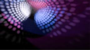 Θολωμένος και οι ελαφριές αντανακλάσεις από τη σφαίρα disco στο υπόβαθρο Στοκ εικόνες με δικαίωμα ελεύθερης χρήσης
