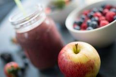 Θολωμένος καταφερτζής μήλων Στοκ φωτογραφίες με δικαίωμα ελεύθερης χρήσης