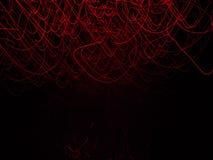 Θολωμένος τα κόκκινα φώτα στην κίνηση Στοκ Φωτογραφίες