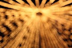Θολωμένο αφηρημένο σχέδιο - φως κύκλων Στοκ Εικόνες