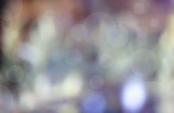 Θολωμένο καφετί και μπλε οριζόντιο τοπίο υποβάθρου Στοκ φωτογραφία με δικαίωμα ελεύθερης χρήσης