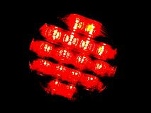 Θολωμένο κόκκινο στοκ εικόνες με δικαίωμα ελεύθερης χρήσης