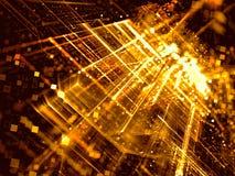Θολωμένο περίληψη υπόβαθρο τεχνολογίας - ψηφιακά παραγμένη εικόνα στοκ εικόνες με δικαίωμα ελεύθερης χρήσης