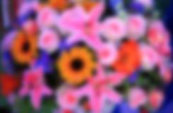 Θολωμένο υπόβαθρο ανθοδεσμών λουλουδιών εικόνας στοκ εικόνες