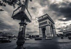Θρίαμβος Παρίσι στοκ εικόνες