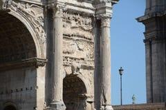 θρίαμβος της Ρώμης αψίδων στοκ φωτογραφίες