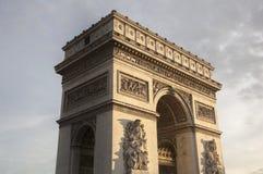 θρίαμβος FR Παρίσι 01 αψίδων Στοκ Εικόνα