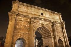 θρίαμβος severus septimus της Ρώμης αψίδων Στοκ φωτογραφία με δικαίωμα ελεύθερης χρήσης