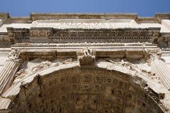 θρίαμβος severus septimus της Ρώμης αψίδων Στοκ Εικόνες