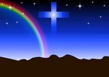 θρησκεία ανασκόπησης Στοκ Εικόνες