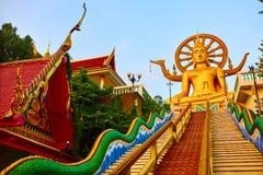 Θρησκεία, Ταϊλάνδη Wat Phra Yai, μεγάλος ναός του Βούδα σε Samui Στοκ φωτογραφία με δικαίωμα ελεύθερης χρήσης