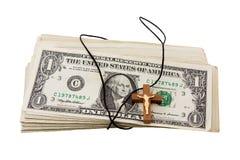θρησκεία χρημάτων Στοκ Φωτογραφία