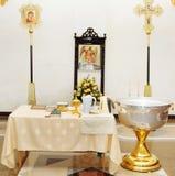 Θρησκευτικά θέματα από την εκκλησία Ρωσία Στοκ εικόνα με δικαίωμα ελεύθερης χρήσης