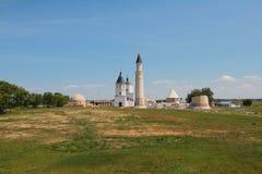 Θρησκευτικά μνημεία των 13-18$ων αιώνων Bulgar, Ρωσία Στοκ εικόνα με δικαίωμα ελεύθερης χρήσης