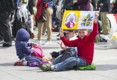 Θρησκευτικά παιδιά Στοκ Εικόνα